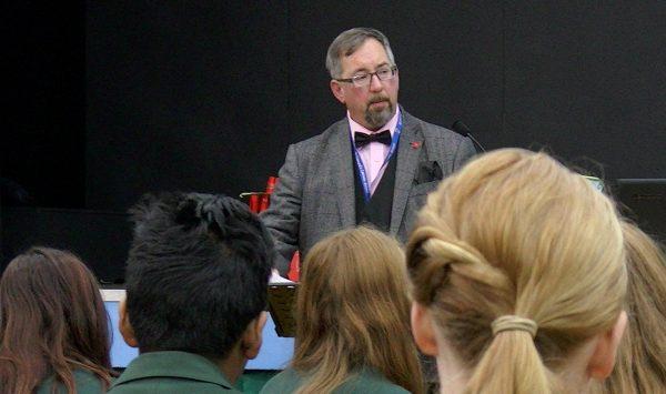 Mike Haines school presentation