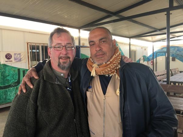 Visit to refugee camps in Jordan